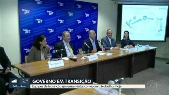 Equipes de transição do governo do Rio de Janeiro começam a trabalhar