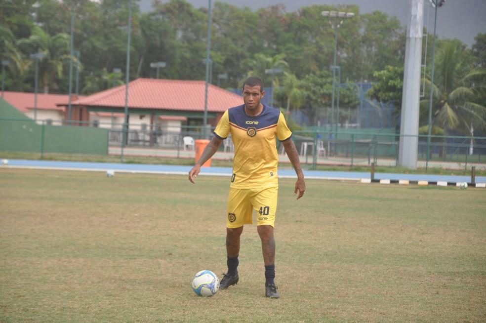 Léo Lima no Madureira (Foto: Divulgação/Site Madureira)