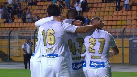 Os gols de Santos 2 x 0 Ceará pela 1ª rodada do Brasileirão 2018