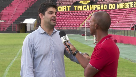 """Diego Souza? Sport projeta elenco sem astros e executivo diz: """"Não vamos trazer ninguém pela fama"""""""