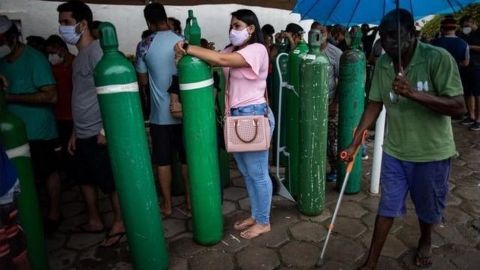 Cientistas ainda investigam o impacto da nova variante sobre colapso da saúde no Amazonas — Foto: Reuters