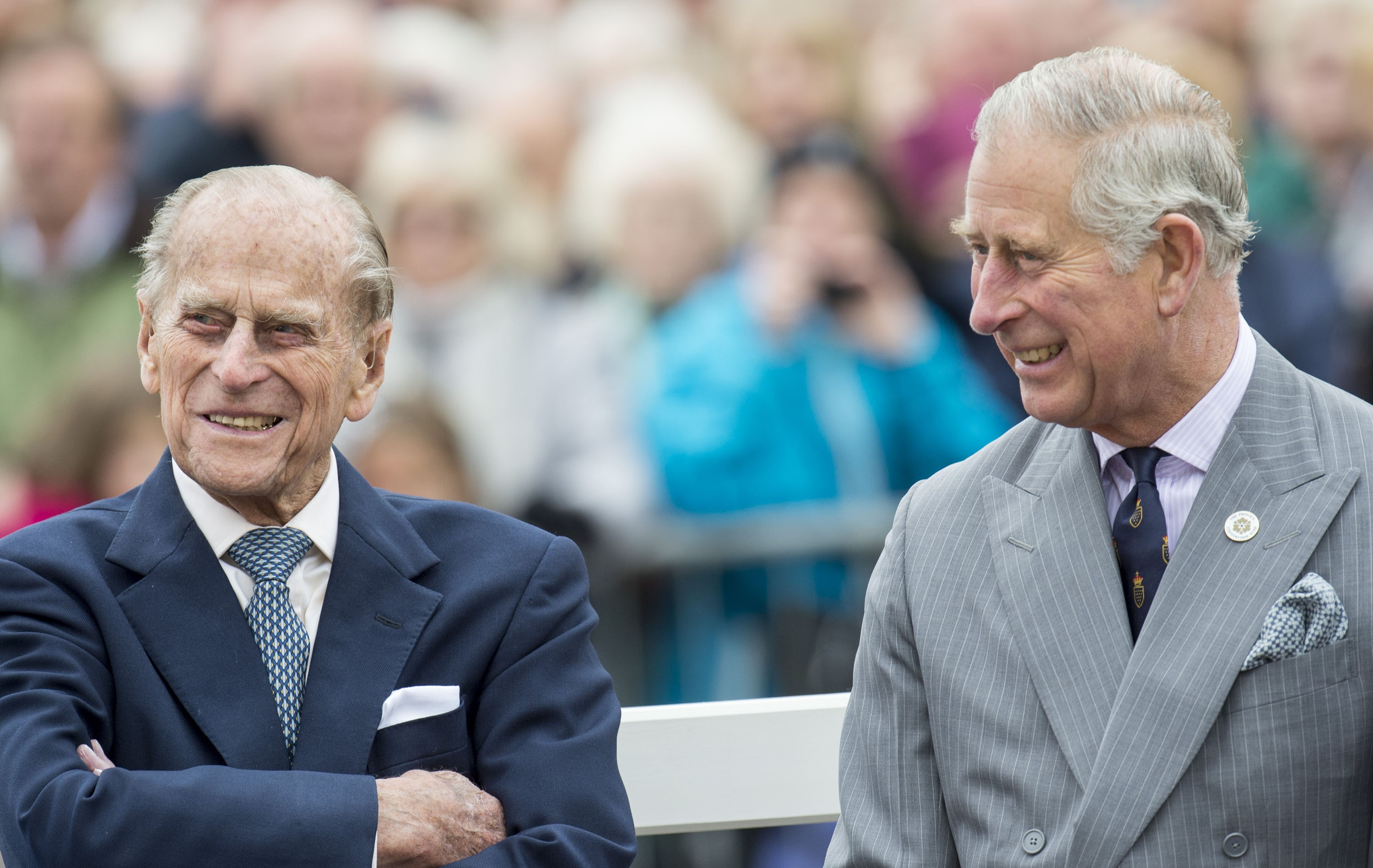 Philip e Charles (Foto: Getty Images)
