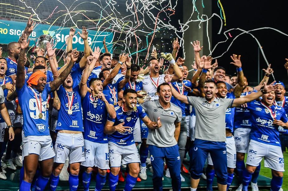 Resultado de imagem para em Minas o Cruzeiro é campeão 2019