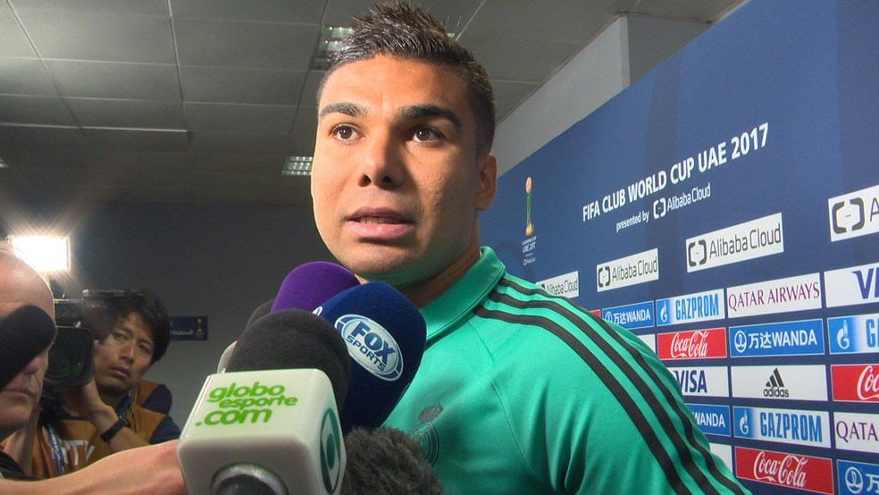 Casemiro ajudou o Real Madrid a chegar à final do Mundial (Foto: Ivan Raupp)