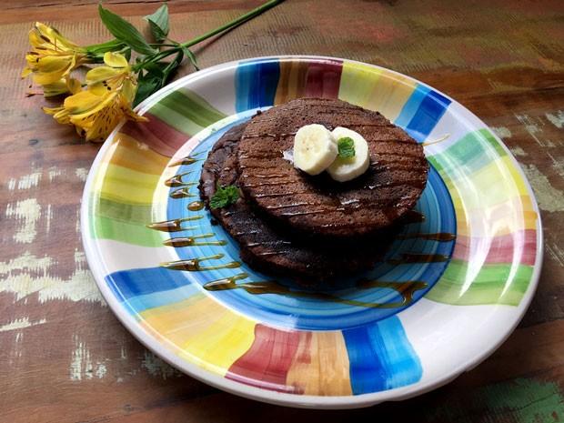 Panqueca de arroz sem gluten e sem lactose (Foto: Divulgação)