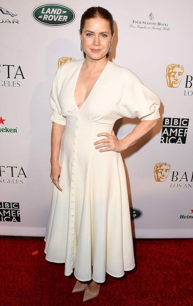 Amy Adams no Bafta Los Angeles Tea Party (Foto: Getty Images)