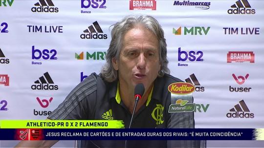 """Grafite classifica triunfo do Flamengo sobre Athletico-PR na Arena como """"vitória de campeão"""""""