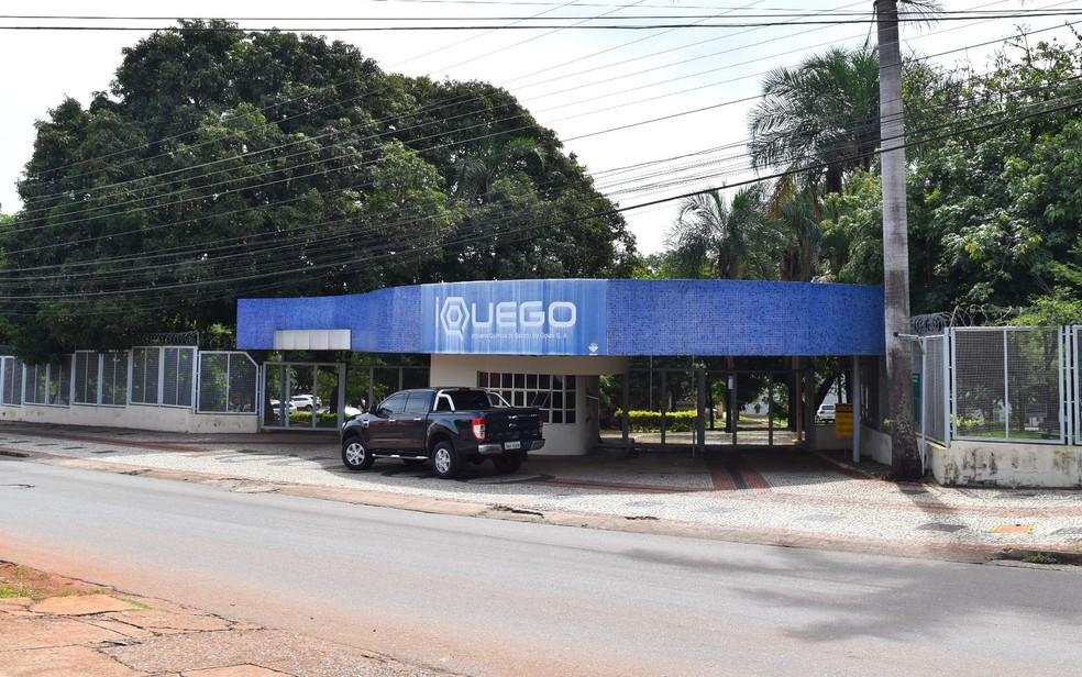 Indústria Química do Estado de Goiás, Iquego, Goiás (Foto: Paula Resende/ G1)