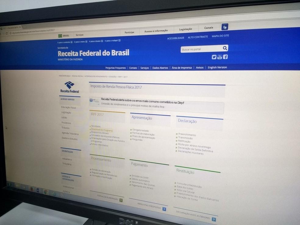 Ceará deve ter 635 mil contribuintes declarando Imposto de Renda 2018 (Foto: Fabiana Figueiredo/G1)