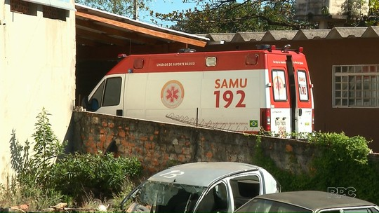 Ambulância do Samu de Londrina é apreendida por licenciamento atrasado após acidente