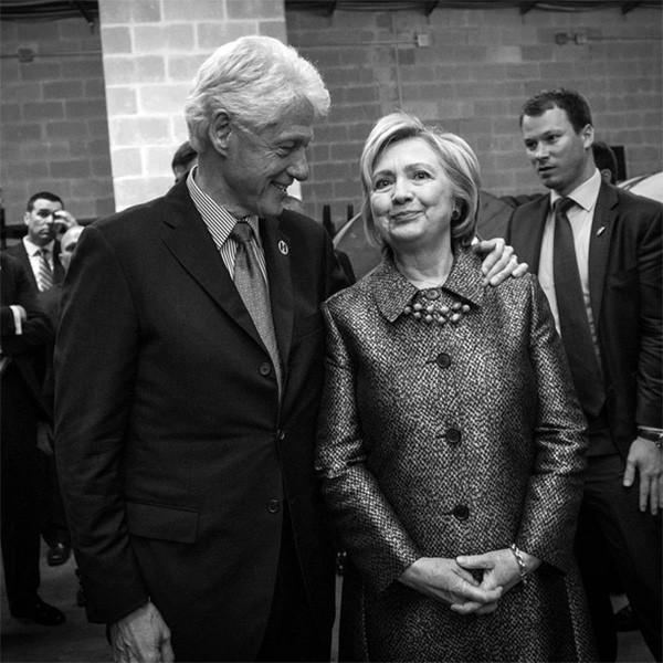 Bill Clinton e Hillary Clinton (Foto: Instagram)