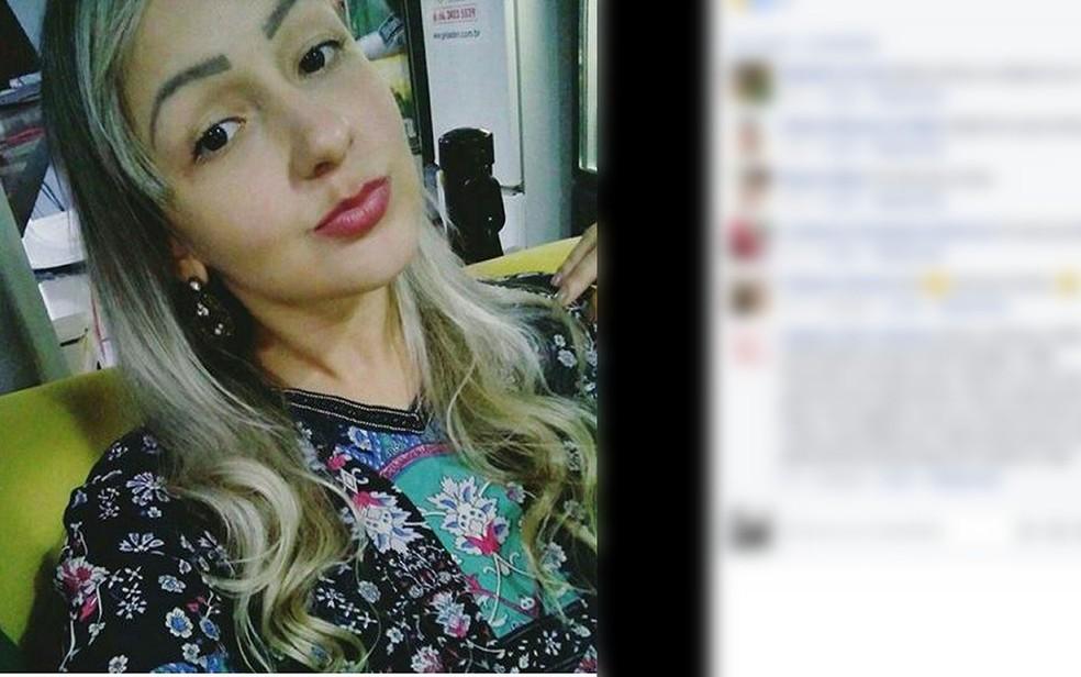 Giselle Gonçalves de Almeida, de 24 anos, morreu em acidente (Foto: Instagram/ Reprodução)