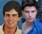 Wagner Montes e Diego Montes caracterizado como o pai | divulgação