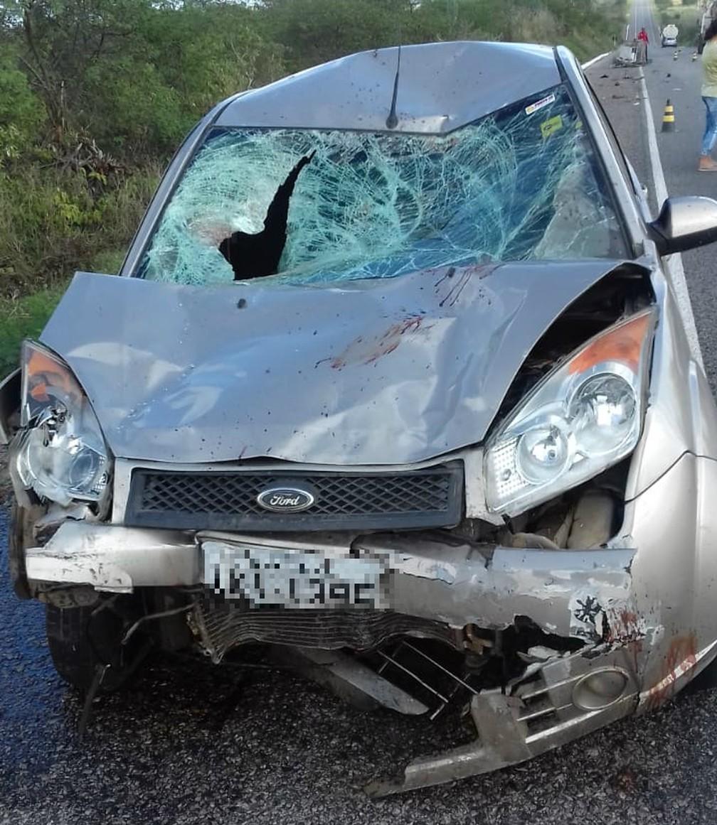 Acidente grave na BA-052 — Foto: Divulgação/Polícia Civil
