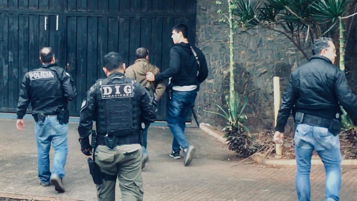 Procurado por roubos violentos a sítios da região é capturado pela Polícia Civil em Piracicaba