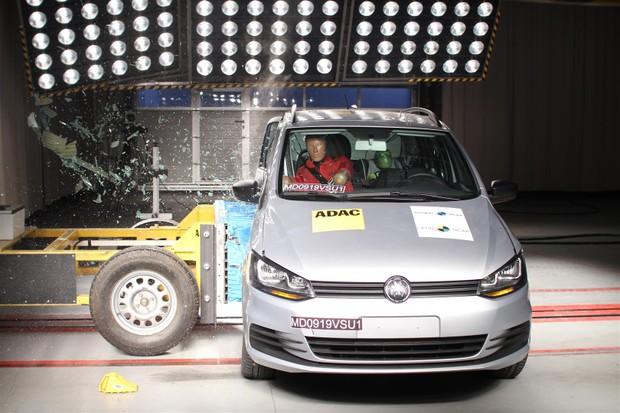 Volkswagen Fox no Latin NCAP (Foto: Divulgação)