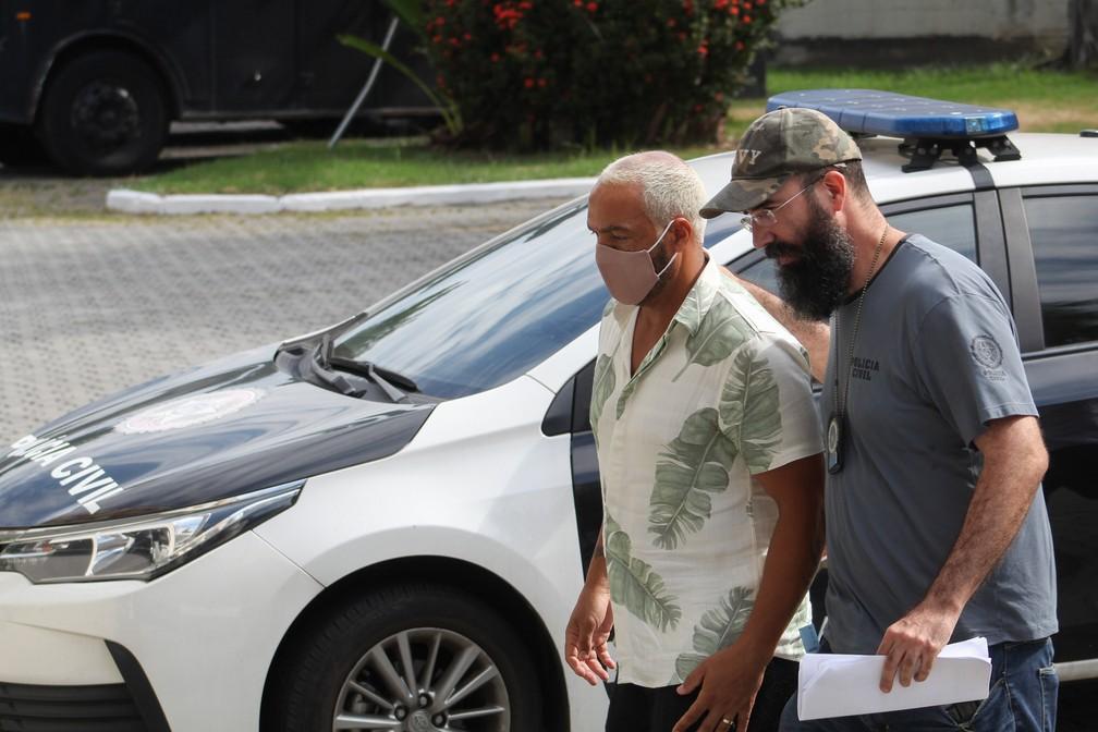 Belo é preso no Rio após festa durante a pandemia — Foto: Joao Gabriel Alves/Enquadrar/Estadão Conteúdo