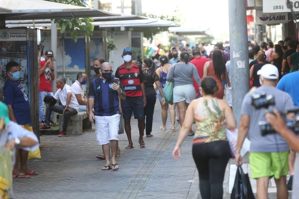 Fortaleza avançou nas fases de retomada da economia — Foto: José Leomar/SVM