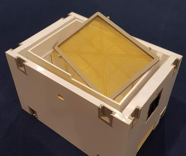 Embalagem para transportar órgãos que vão para o transplante é mais leve e mais segura (Foto: Divulgação)
