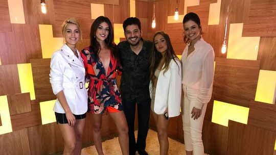 Agatha Moreira, Anaju Dorigon, Bruna Griphao e Pâmela Tomé celebram relação de amizade entre elas
