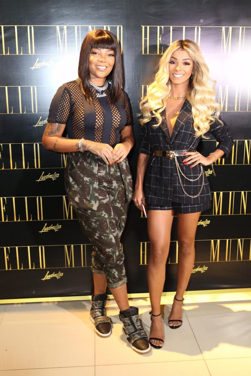 Ludmilla e Brunna Gonçalves (Foto: QUEM)