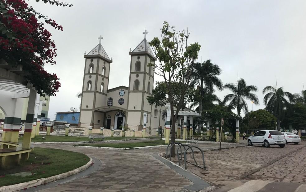 Barra da Estiva, cidade do sudoeste da Bahia onde ocorreu o crime — Foto: Lay Amorim/Achei Sudoeste