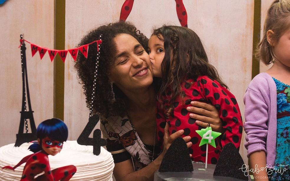 Lorena criou empresa depois de produzir festa da filha, Manuca (Foto: Gab Brito)