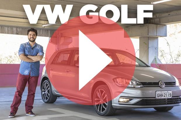 Volkswagen Golf - home (Foto: Autoesporte)