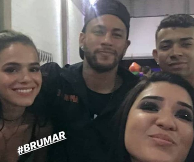 Neymar e Bruna Marquezine comemoram aniversário de Davi Lucca (Foto: Reprodução Instagram)
