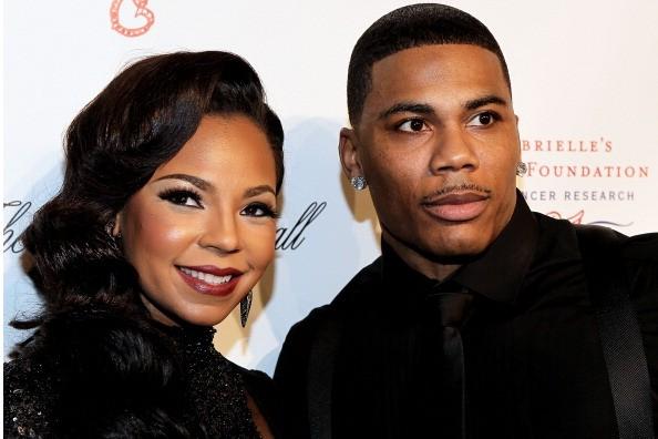 Nelly e Ashanti em 2012 (Foto: Getty Images)