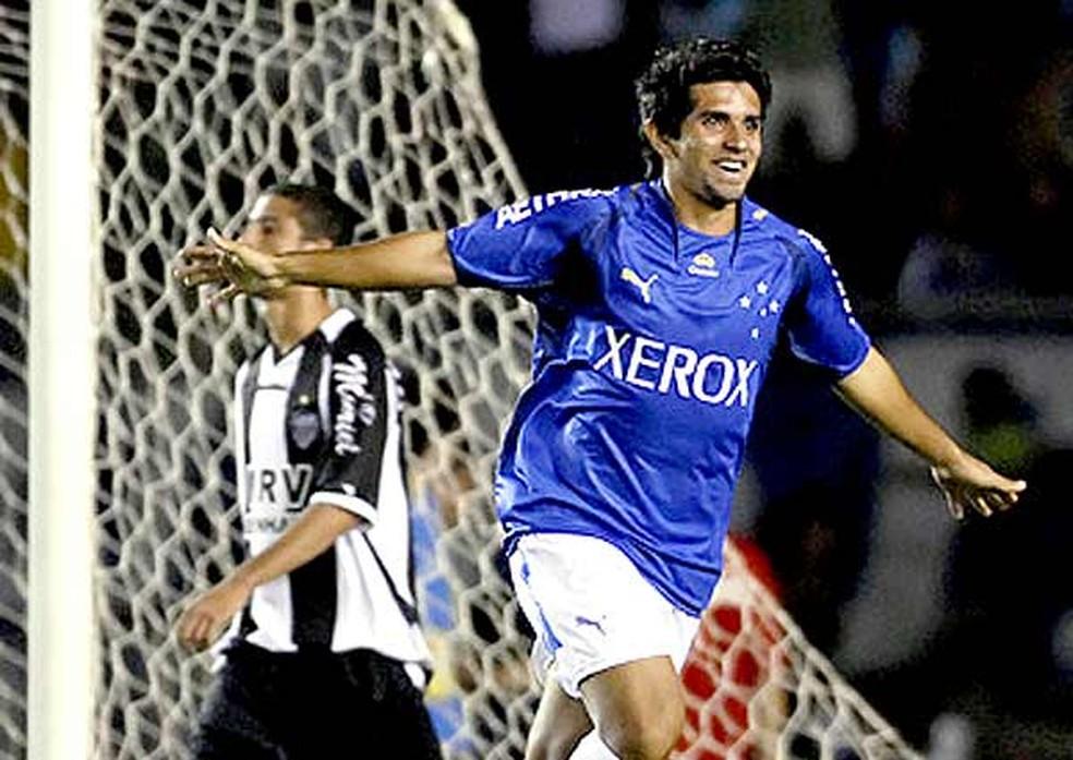 Guilherme pelo Cruzeiro em 2007 — Foto: Divulgação