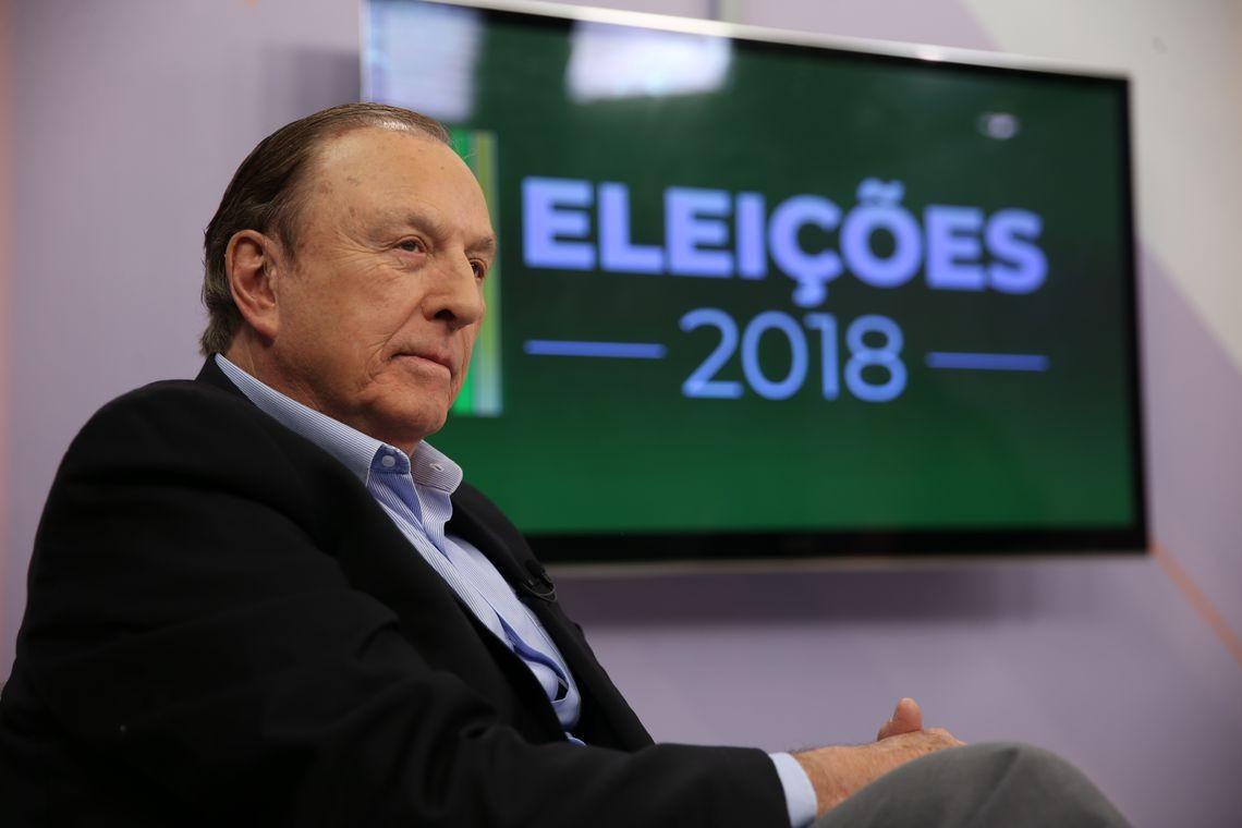 O candidato da DC, José Maria Eymael (Foto: Agência Brasil)