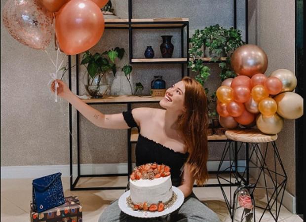"""Ex-BBB Ana Clara Lima celebra 23 anos em quarentena: """"Festa online ..."""