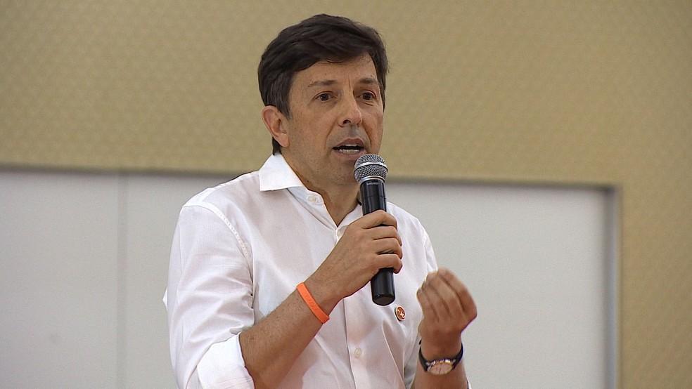 João Amoêdo, fundador do partido Novo.  — Foto: Carlinhos Brasil/ Rede Vanguarda