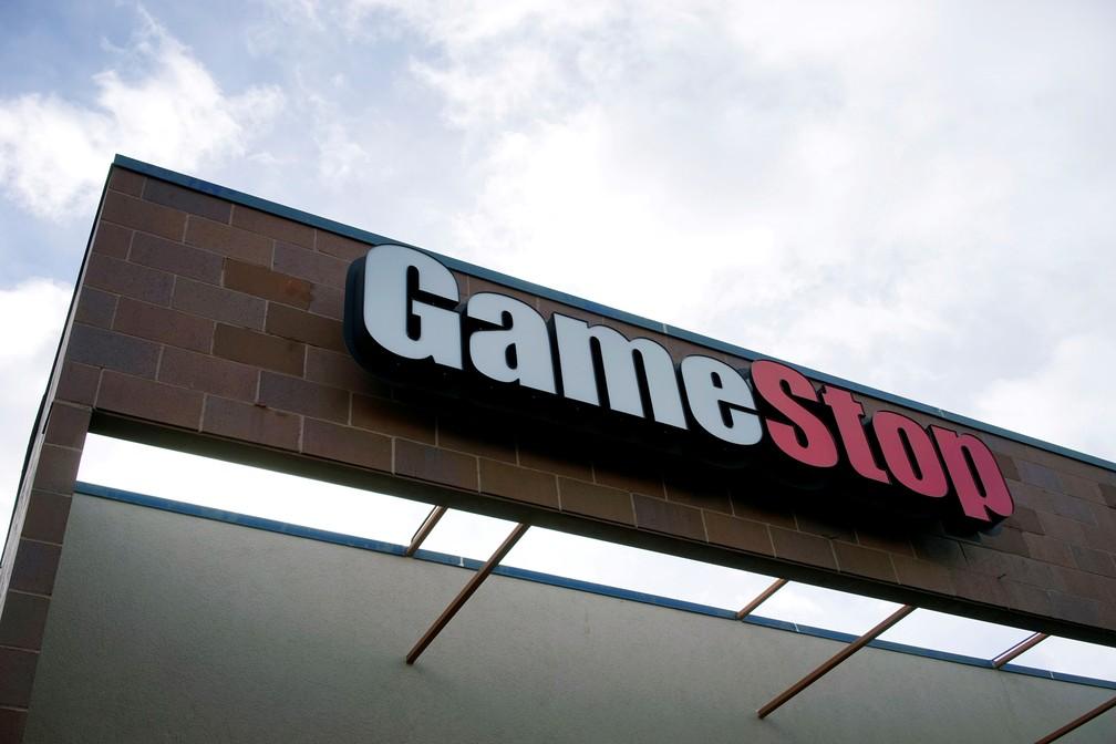 Fachada da GameStop em Westminster, Colorado — Foto: Reuters