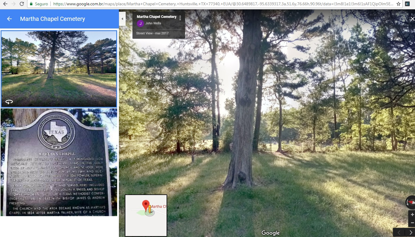 Captura de tela feita no Google Street View (Foto: Reprodução)