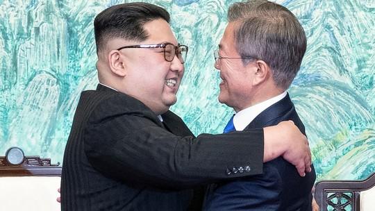 Foto: (Korea Summit Press Pool/Pool via Reuters)