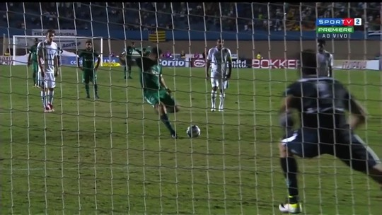 Os gols do empate entre Goiás e Juventude no Serra Dourada