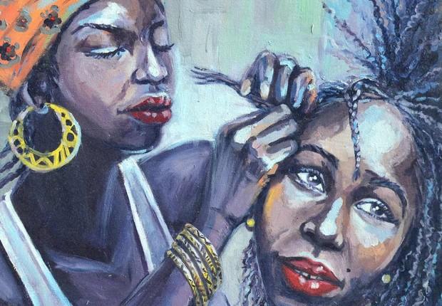 pintura Startup quer dar visibilidade a artistas africanos