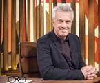Pedro Bial no 'Conversa com bial' | Ramon Vasconcelos/TV Globo