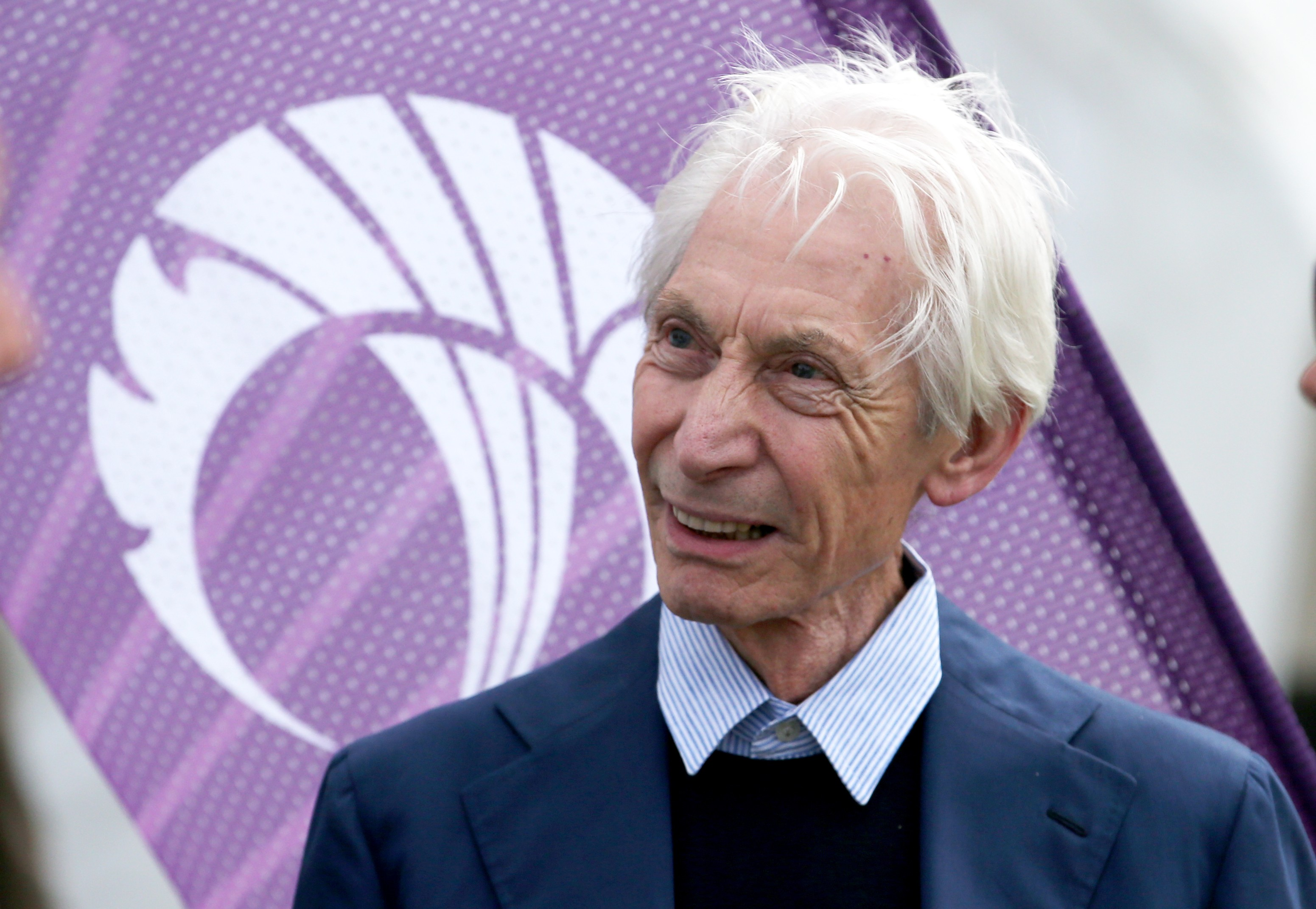 Charlie Watts of The Rolling Stones during the One Day International at The Grange, Edinburgh. (Photo by Jane Barlow/PA Images via Getty Images) (Foto: PA Images via Getty Images)