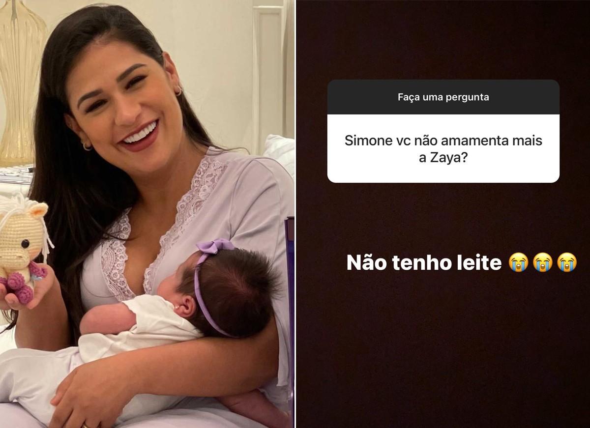 Simone e a filha, Zaya (Foto: Reprodução / Instagram)