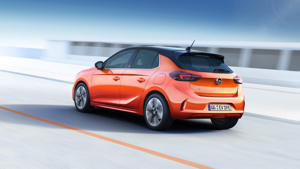 Opel Corsa elétrico — Foto: Opel/Divulgação