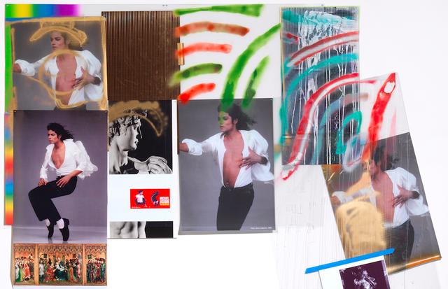 "Hugo Boss patrocina a exposição ""Michael Jackson: On the Wall"" na National Portrait Gallery: 'Wind (Michael/David)' por Isa Genzken (2009) (Foto: Reprodução)"