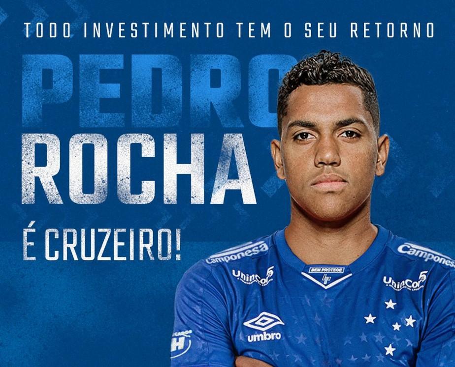 7f383942d42c7 ... Cruzeiro anuncia contratação de atacante Pedro Rocha