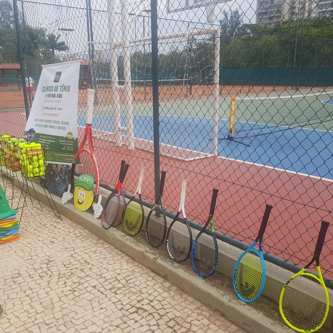 As raquetes da Head disponíveis para teste no Golden Green