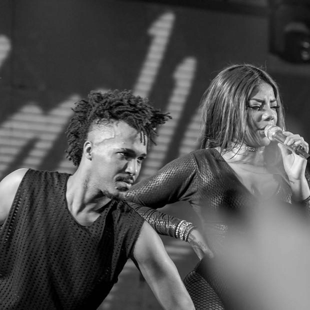 Ludmilla e Edson Damazzo, o Bibiu (Foto: Arquivo pessoal)