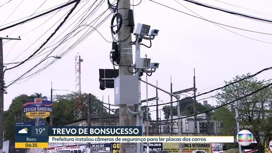 Prefeitura de Guarulhos instala câmeras no trevo de Bonsucesso