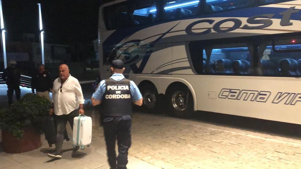 """Douglas Schwartzmann, ex-diretor de marketing e conselheiro do São Paulo, viajou no avião fretado pelo clube para Córdoba. Em 2017, ele criticou o """"Aeroleco"""" — Foto: Marcelo Hazan"""