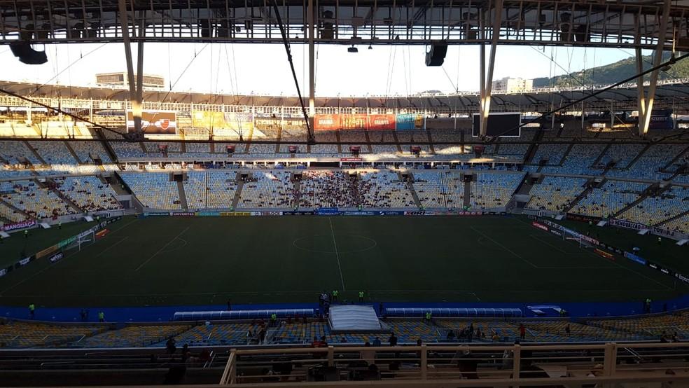 Maracanã, o palco da decisão do Campeonato Carioca — Foto: Felipe Schmidt